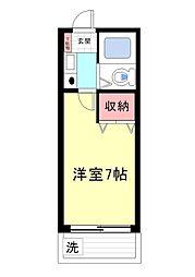 シャルムメゾン六甲道[404号室]の間取り