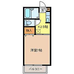 ラフィーネS.T B棟[1階]の間取り