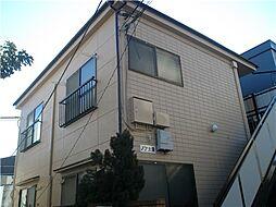 東京都練馬区東大泉1丁目の賃貸アパートの外観