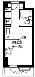 東京都港区南麻布4丁目の賃貸マンションの間取り