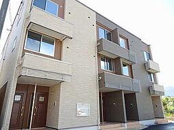 広島県広島市佐伯区八幡東3丁目の賃貸アパートの外観