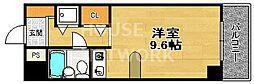DETOM-1烏丸五条[608号室号室]の間取り