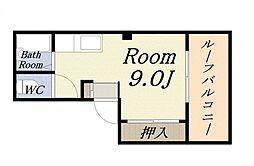 丸松マンション[5階]の間取り