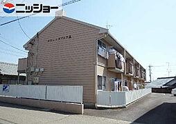 タウニーカワムラA[1階]の外観