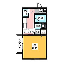 COPAIN HOUSE[2階]の間取り