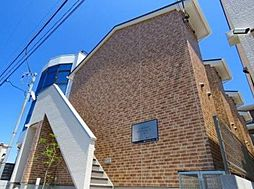 千葉県松戸市常盤平陣屋前の賃貸アパートの外観