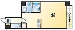 I Cube恵美須[9階]の間取り