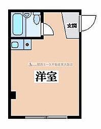 ルミナーレ東大阪[4階]の間取り
