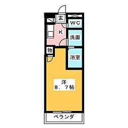 Copea Yamasou[2階]の間取り
