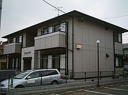 福岡県北九州市小倉北区中井5丁目の賃貸アパートの外観