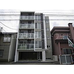 北海道札幌市中央区南五条西11丁目の賃貸マンションの外観