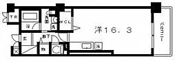 ロイヤルパークス桃坂[11階]の間取り