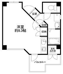 センターハウス[303号室]の間取り