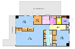 ベルヴィル杉田II[4階]の間取り