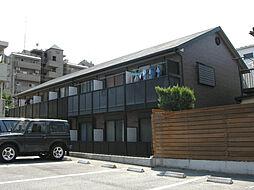 愛知県名古屋市守山区長栄の賃貸アパートの外観