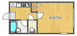 サニーコート千里山 1F[1階]の間取り