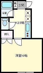 ウラナス・アイ[1階]の間取り