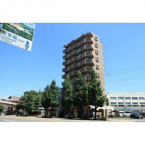 熊本県熊本市中央区大江5丁目の賃貸マンション
