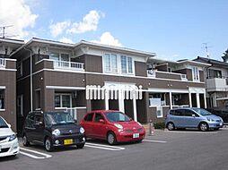 岡山県岡山市北区奥田南町の賃貸アパートの外観