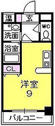 エグゼクティブアネックス[5階]の間取り