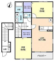 DreamI[2階]の間取り
