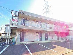 東京都小平市小川町1の賃貸アパートの外観
