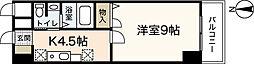 シャトー広島[5階]の間取り