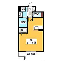 エンクレスト博多STYLE[2階]の間取り