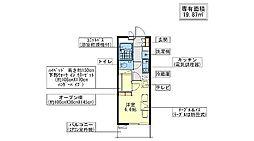 KASHIWA[2階]の間取り