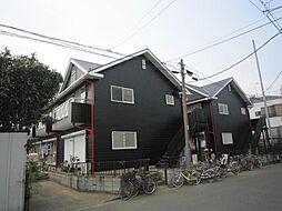 埼玉県川口市末広3の賃貸アパートの外観