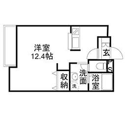 キャロルハウス4[1階]の間取り