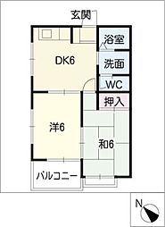 62・Oハウス[1階]の間取り