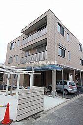 岡山県岡山市北区津倉町2丁目の賃貸マンションの外観