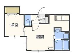 仮)北5西13MS B棟[5階]の間取り