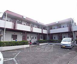 京都府京都市右京区梅津段町の賃貸アパートの外観