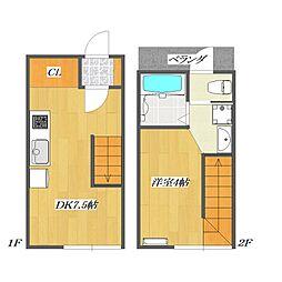 Calico-House 〜ねこの家〜 1[117号室]の間取り