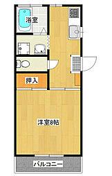 第2鈴木コーポ106[106号室]の間取り