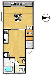 グランメール[1階]の間取り
