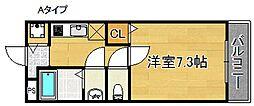 I Palace[2階]の間取り
