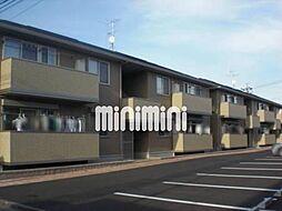 静岡県静岡市清水区楠新田の賃貸アパートの外観