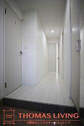 ラファエロの大きなシューズBOX付きの玄関