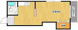 コーポ福地苑[2階]の間取り