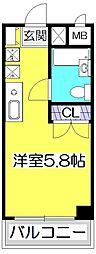 ハウスアメニティ99[3階]の間取り