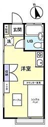 青雲マンション[2階]の間取り