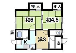 [一戸建] 奈良県奈良市般若寺町 の賃貸【/】の間取り