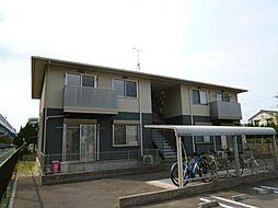 試験場前ハウス[2階]の外観