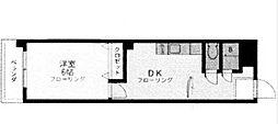 ハイツ三恵[305号室]の間取り