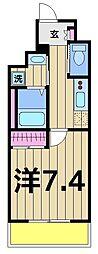 エスパシオ綾瀬[7階]の間取り