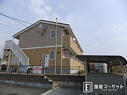 愛知県豊田市御船町鳥坂根の賃貸アパートの外観