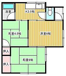 [一戸建] 茨城県取手市新取手4丁目 の賃貸【/】の間取り